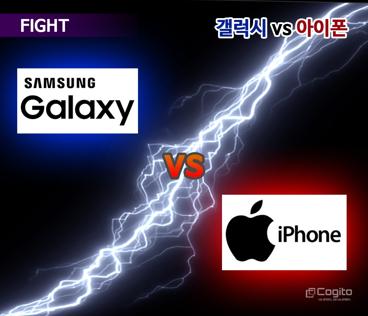 Samsung Galaxy VS Apple iPhone